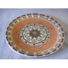 Оранжева 22см. Чиния От Традиционна Троянска Керамика