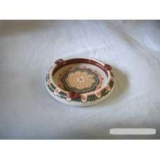 Бял 13см. Пепелник От Традиционна Троянска Керамика