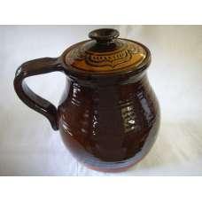 Гърне 4л. За готвене Ръчно Изработено От Традиционна Троянска Керамика